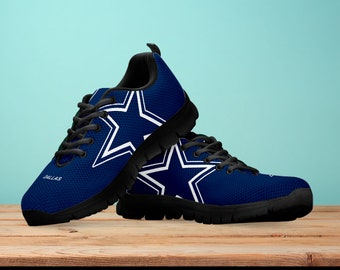 c3a8e8191 Dallas cowboys Fan Unofficial Running Shoes  Women  men  kids sizes
