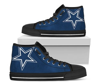 9f9733d6c3d Dallas cowboys Fan Unofficial High top/ Women/ men/ sizes