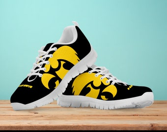 new style 0d996 96026 Iowa Hawkeye Fan Unofficial Running Shoes  Women  men  kids sizes