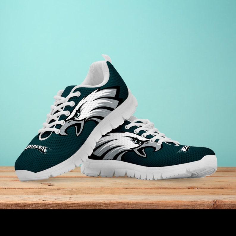 6b2d4dc5 Philadelphia eagles Fan Unofficial Running Shoes/ Women/ men/ kids sizes