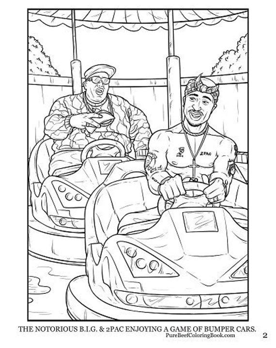 Tupac Coloring Sheets | 718x570
