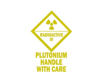 pretty nice 4523a a0d02 Back To The Future Vinyl Decal Car Laptop Sticker - Powered By Flux  Capacitor - DeLorean - Mr Fusion - Doc Brown Plutonium Handle With Care