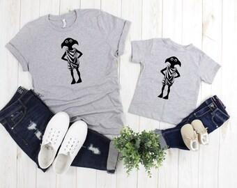 Muggle T-Shirt Potter Inspiriert Lustig Zauberer Dobby Damen