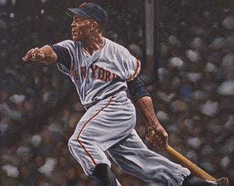 8b50ec8088d Willie Mays Poster | Canvas | Banner