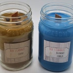 Breakfast Double, Natural Soy Candle, Hand poured, Blueberry Cobbler and Coffee