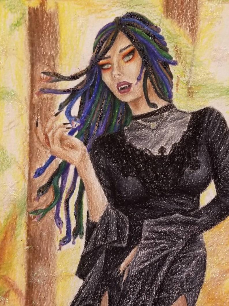 Medusa Heals original piece
