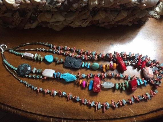 Mix Gem Necklace