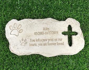 Personalized Pet Memorial Stonespaw Prints Dog Memorial Etsy