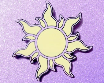 cde925d85 Tangled Sun Disney Inspired Jumbo Fantasy Pin Limited Edition 35