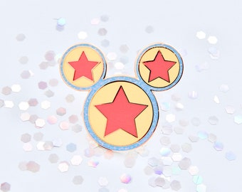 57ace1b6806a7 Pixar Toy Story Inspired Luxo Ball Mickey Mouse Enamel Fantasy Pin