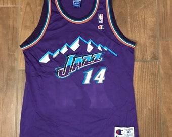 Vintage Champion Utah Jazz Jeff Hornacek Jersey 8f0ffa150