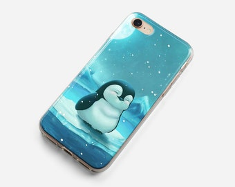 penguin iphone xr case