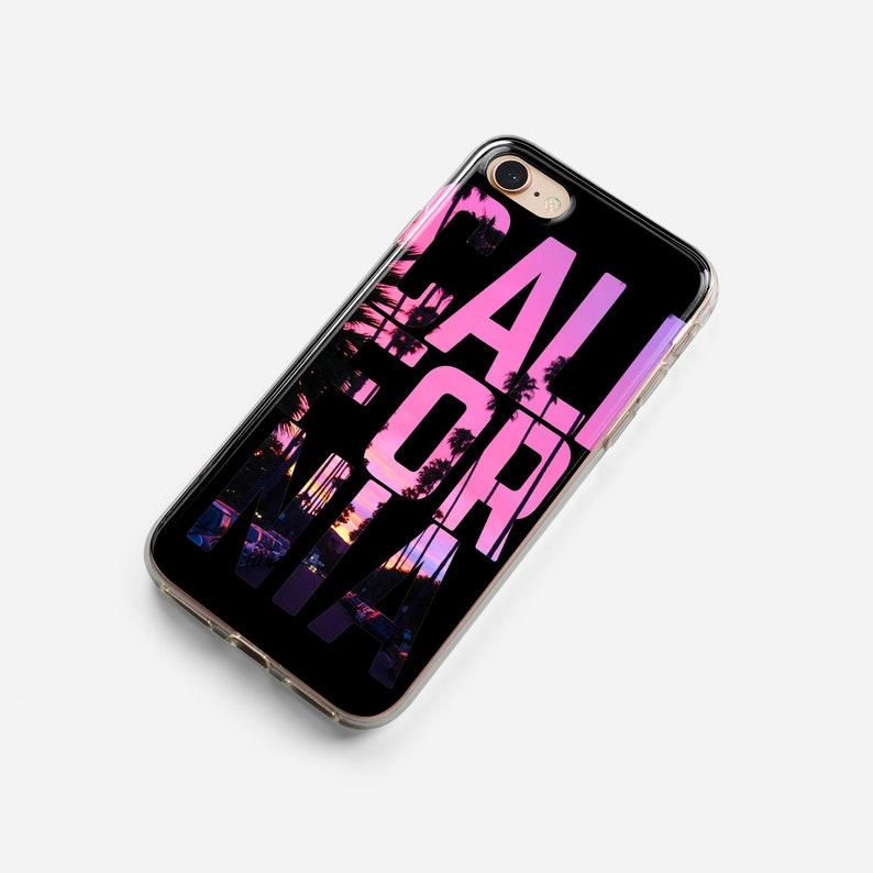 coque iphone 7 californie