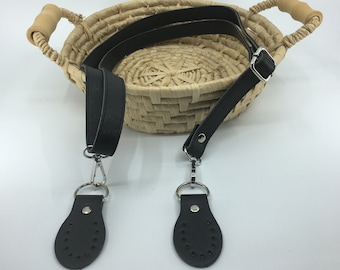5298c5106603 Leather purse straps | Etsy