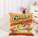 Hot Cheetos Throw Pillow Case (Pillow Cover Only)