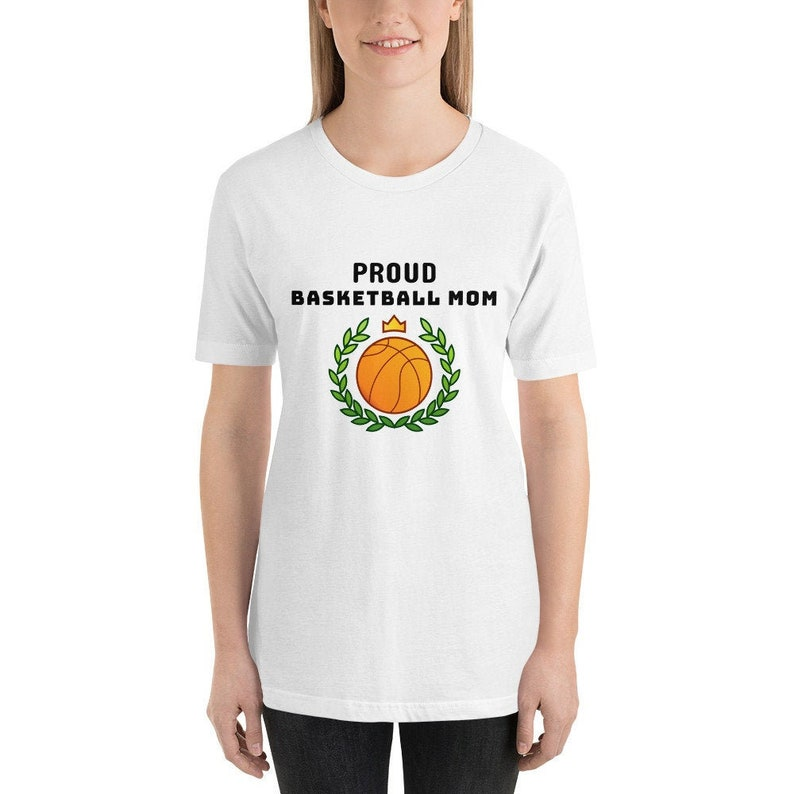 Proud Basketball Mom Shirt for Women image 0