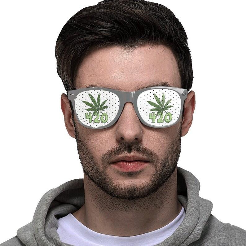 420 Sunglasses  Weed Glasses  Marijuana Sunglasses  image 0