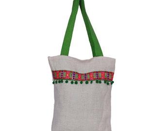 e9eb579a99 White Jute Multipurpose Bag