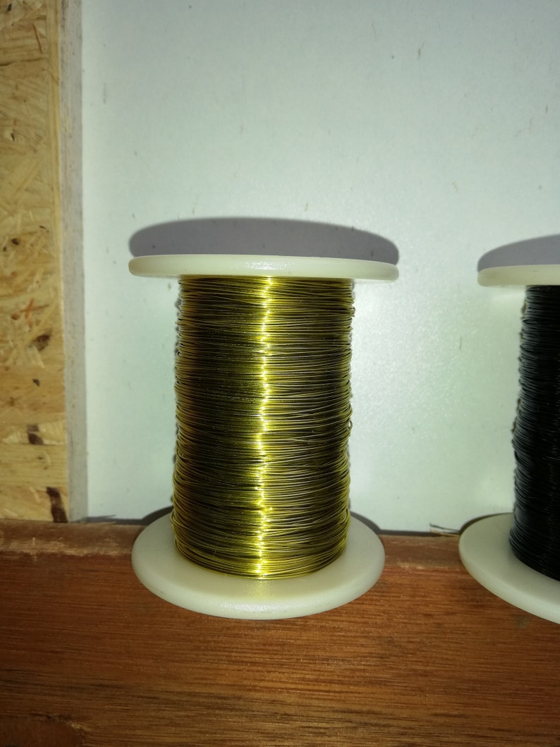 1 coils spools 328 ft 0.018 wire 0.45 mm each 100 m