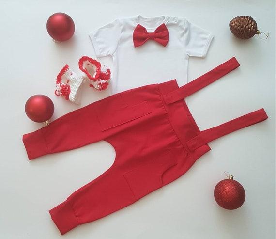 Preemie Christmas Dress Newborn Christmas Outfit Baby Christmas Dress