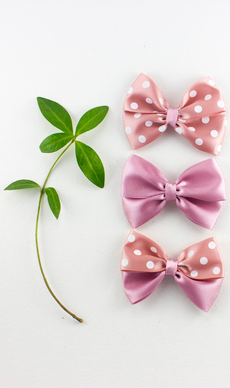 Set of 3 Hair clips Hair bow Girls Hair clip Shower Gift Baby Girl Accessory