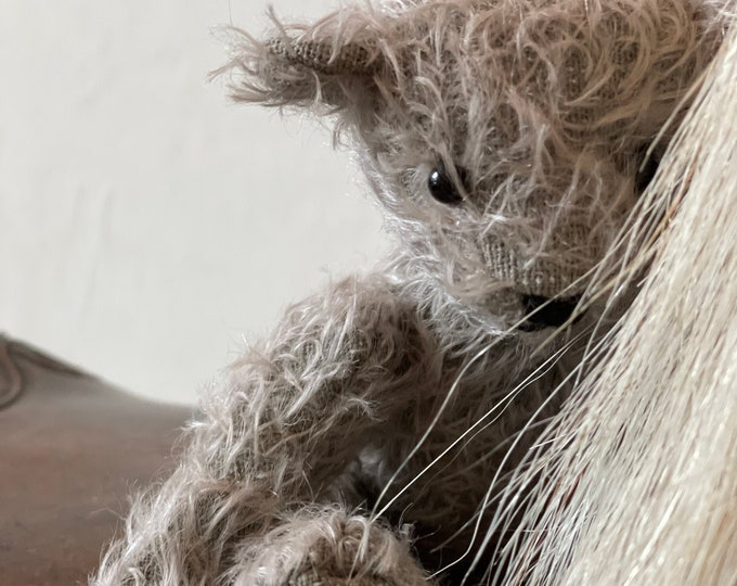Mohair traditional Jointed Teddy Bear Graduation Gift
