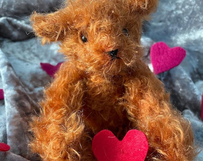 Mama Bear Steiff Mohair Traditional Jointed Artisan Teddy Bear