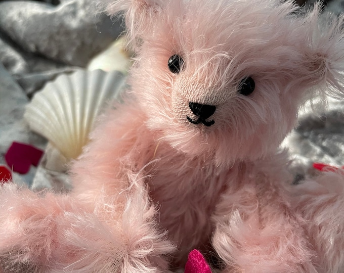Mother's Day Steiff Mohair Traditional Jointed Teddy Bear