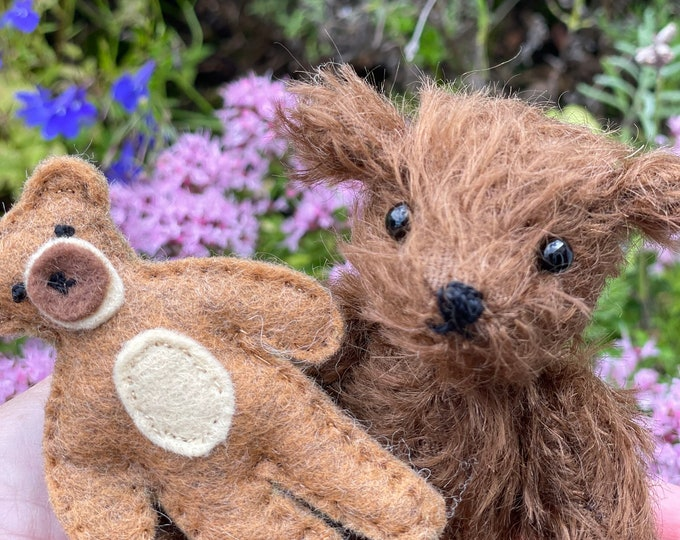 Steiff Mohair, Traditional Jointed Teddy Bear, Artisan, Unique, DevonGrizzlies