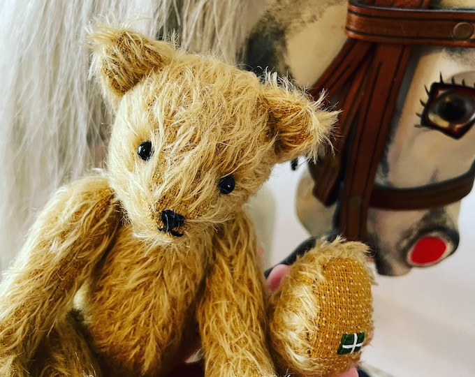 Steiff Mohair, Traditional Jointed, Artisan Teddy Bear