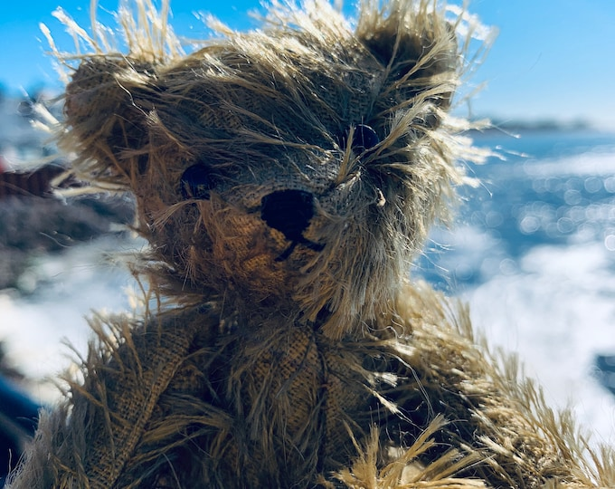 Mohair Traditional Jointed Teddy Bear Collectable Eco Gift