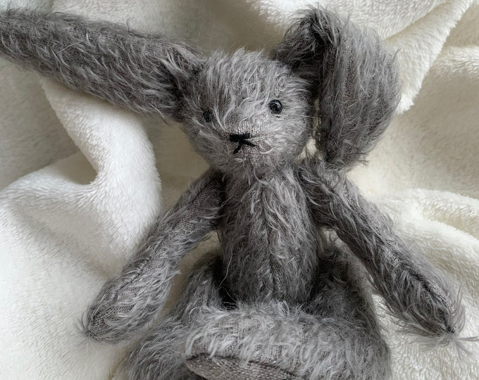 Mohair Teddy Bear Hare Pattern