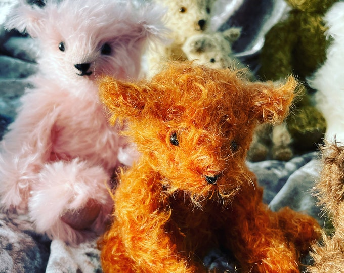 Steiff Mohair Traditional Jointed Artisan Teddy Bear