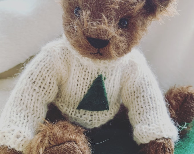 DevonGrizzlies Teddy Bear  Jumper Pattern