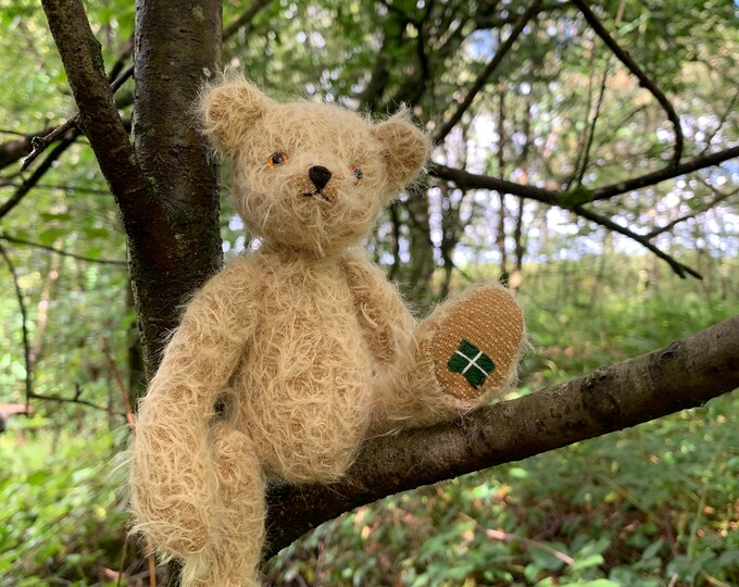 Mohair Traditional Jointed Teddy Bear Eco Gift