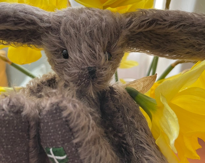 Steiff Mohair, Traditional Jointed, Artisan Hare