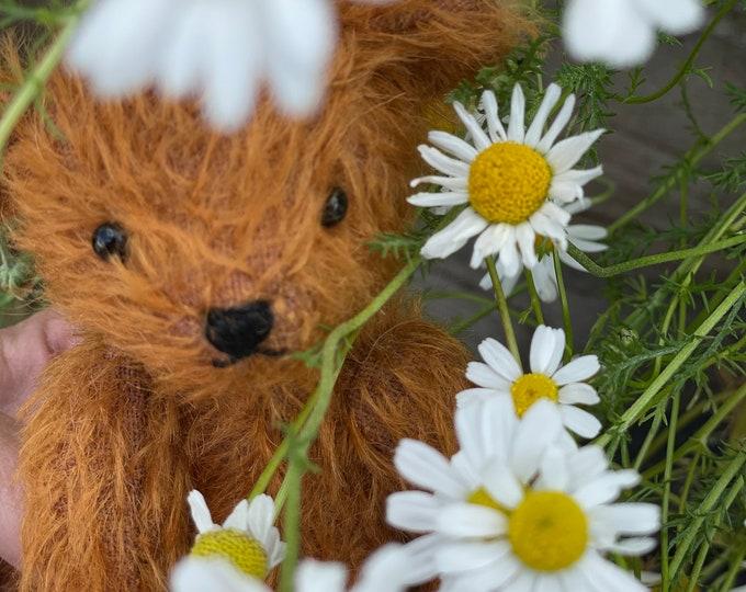 Steiff Mohair, Traditional Jointed Teddy Bear, Artisan, Unique, Handmade DevonGrizzlies