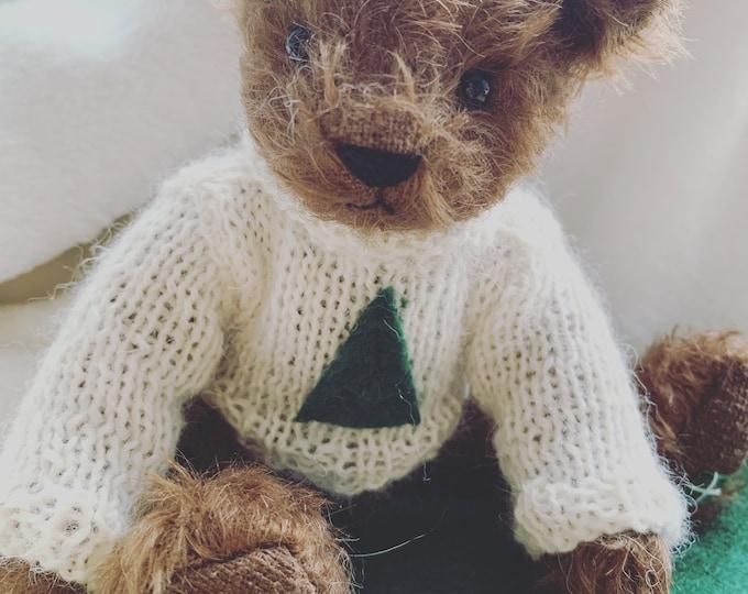 DevonGrizzlies Teddy Bear  Jumper Pattern