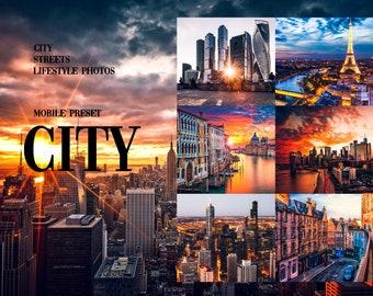 Mobile Lightroom Preset CITY, Mobile Presets, Lightroom Presets, Cityscapes Presets, Presets Lightroom, Blogger Presets, Presets for Mobile