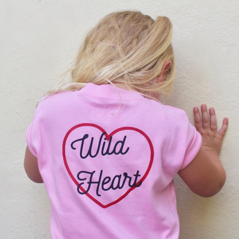 Wild Heart tee pink image 0