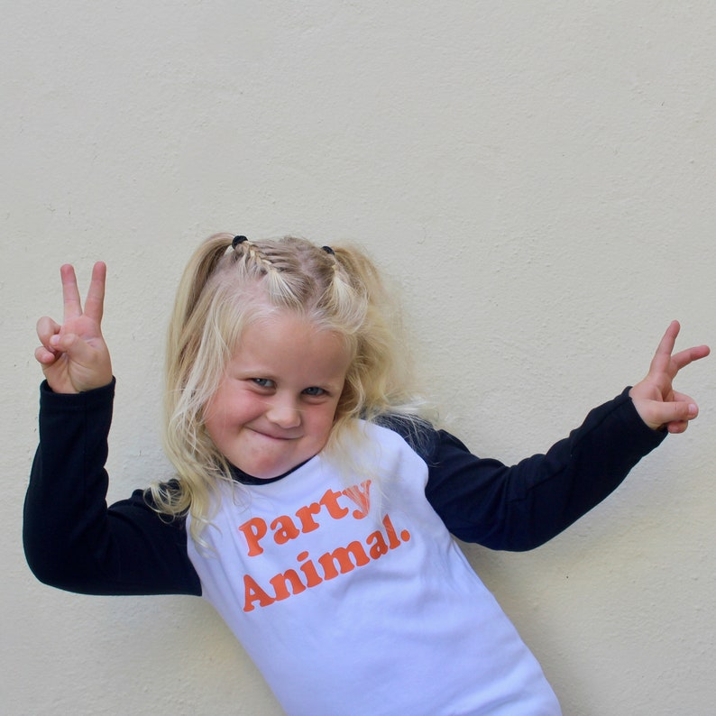 Party Animal long sleeve tee image 0