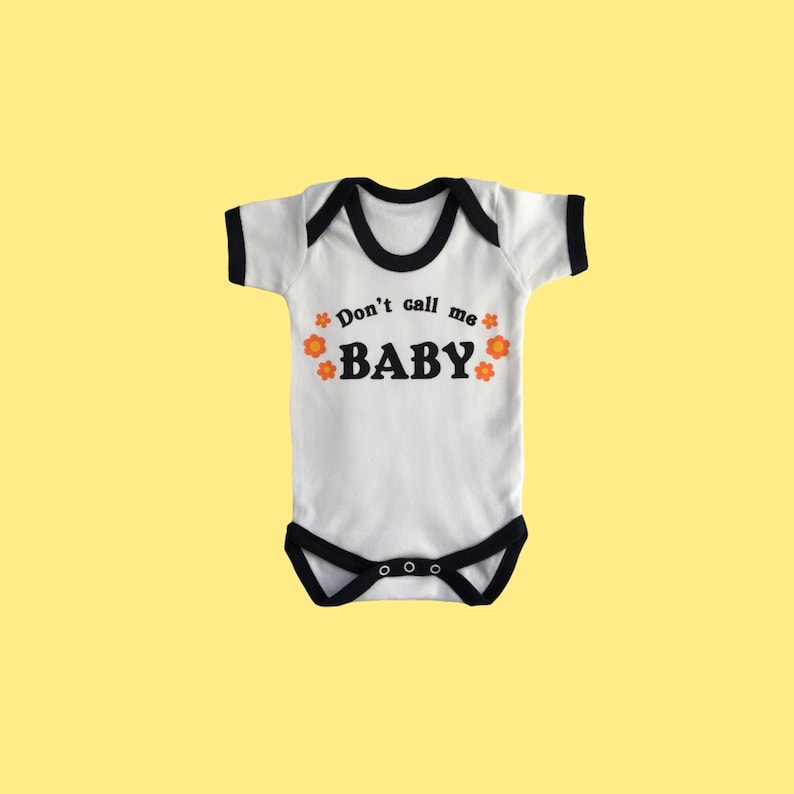 Don't Call Me Baby bodysuit image 0