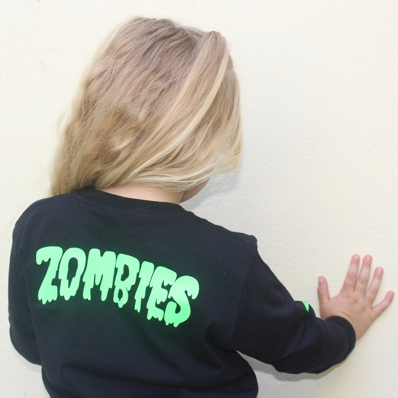 Zombie long sleeve tee image 0