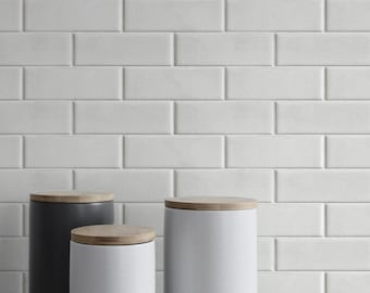 Morcart Peel and Stick Backsplash Subway Tiles Back Splashes Wall Tiles for Kitchen Backsplashes 12x12 5 Sheets, White Marble