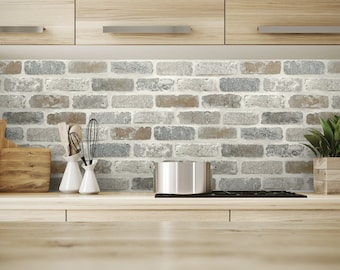 Backsplash Wallpaper Etsy