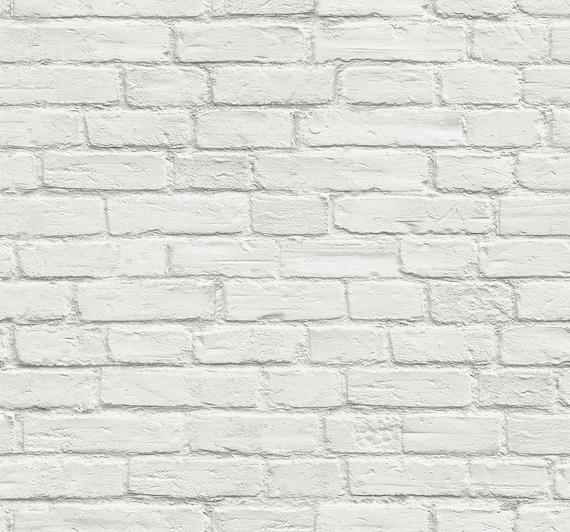 Self Adhesive Wallpaper Brick Peel And Stick White Brick Wallpaper White Brick Removable Wallpaper Peel Stick Wallpaper Sticker