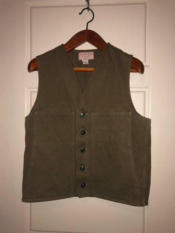 Filson work vest.