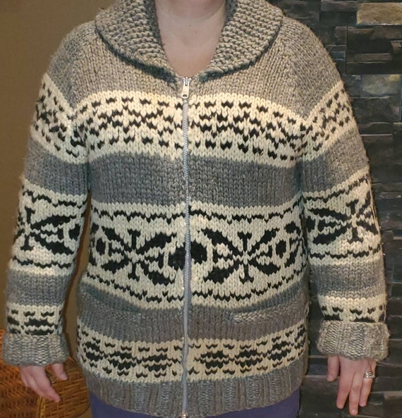 Vintage Cowichan sweater.