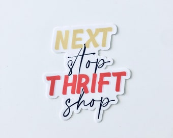 Poshmark Sticker, Thrifting Sticker, Thrift Shop, Reseller, Poshmark Reseller