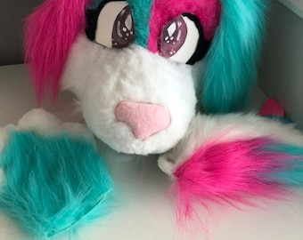 9c7cf18106152 Fursuit partial | Etsy